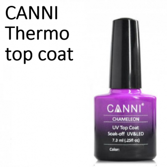 Гель-лаки CANNI Thermo TOP